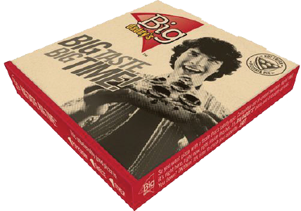 BIG DADDY'S™ whole pizza in a box