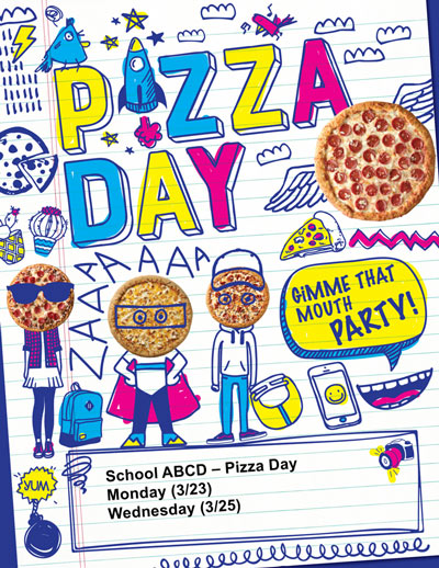 Pizza Day Poster