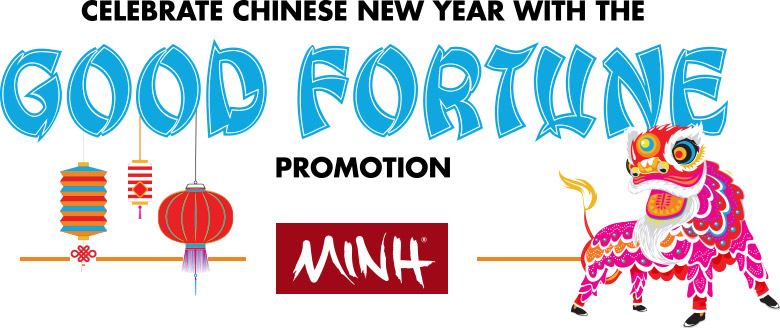 Celebrate Chinese New Year with the Good Fortune Promotion