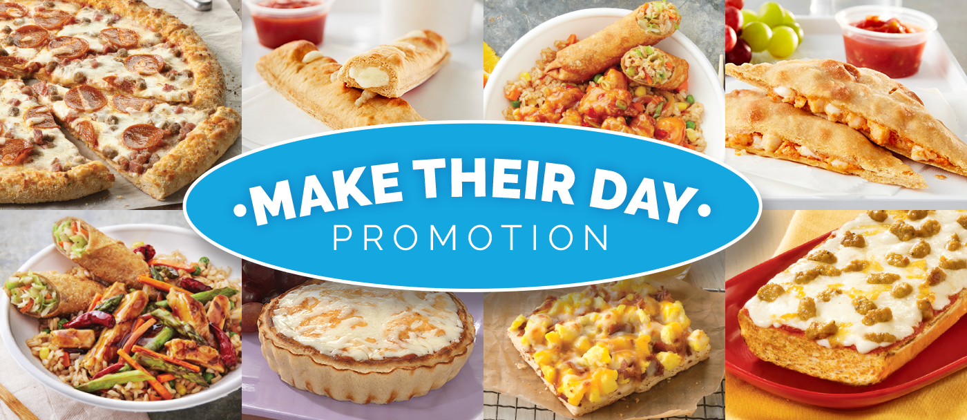 Make Their Day Promotion.